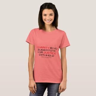 La charité n'est aucun T-shirt léger de