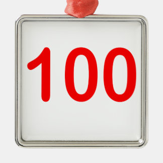 la chemise 100 de l'emoji 100 le gardent 100 ornement carré argenté
