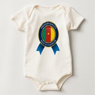 La chemise de bébé indiquent, fait au Cameroun, le Body