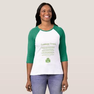 La chemise des femmes du jour de St Patrick vert T-shirt