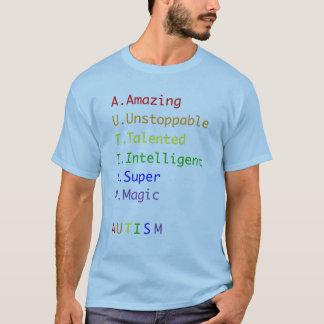 La chemise des hommes de sensibilisation sur t-shirt