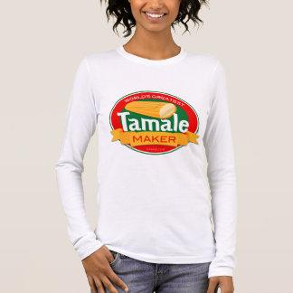 La chemise des plus grandes de la tamale du monde t-shirt à manches longues