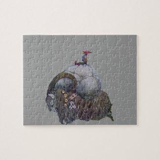 La chèvre de Noël Puzzle