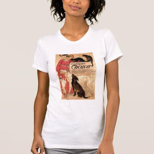 La clinique vintage Chéron - chemise de Steinlen T-shirt