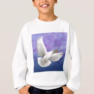 La colombe de paix de vol badine le sweatshirt