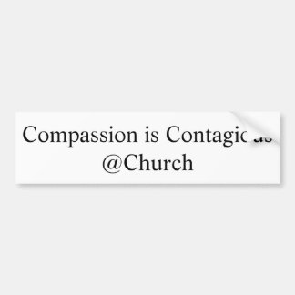 "La ""compassion est autocollant de @Church"