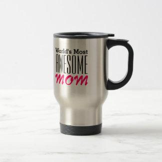 La conception du Maman-Texte LA PLUS Mug De Voyage