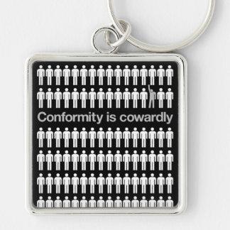 La conformité est porte - clé lâche porte-clés