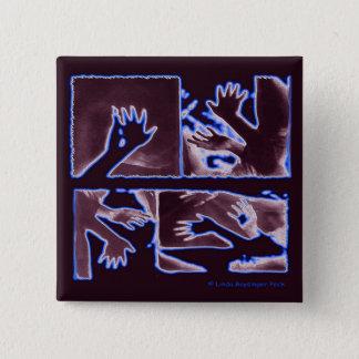 La conformité n'est pas une vertu badge carré 5 cm