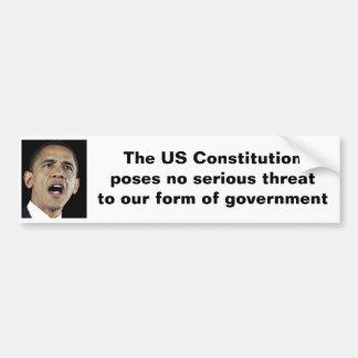 La constitution des USA Autocollant De Voiture