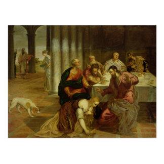 La conversion de Mary Magdalene, 1546-7 Carte Postale