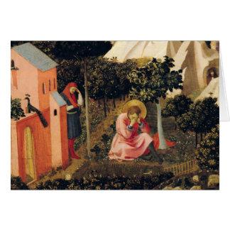 La conversion de St Augustine Carte