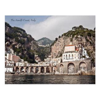 La côte d'Amalfi Carte Postale