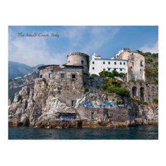 La côte d'Amalfi de la mer Carte Postale