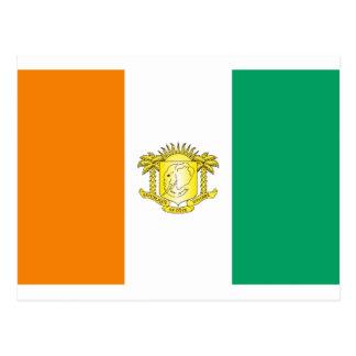 La Côte d'Ivoire - Côte d'Ivoire Carte Postale