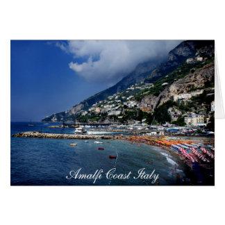 La côte Italie d'Amalfi Carte