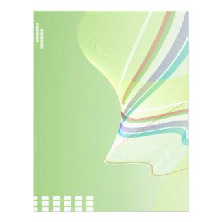 la couleur multi ondule les affaires notebook-01 prospectus 21,6 cm x 24,94 cm