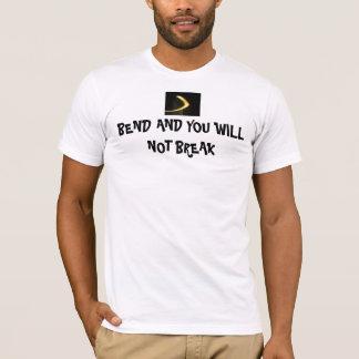 La courbure et vous ne vous casserez pas t-shirt