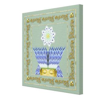 La couronne de la copie de toile d'éclaircissement