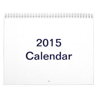 La coutume a imprimé le calendrier 2015