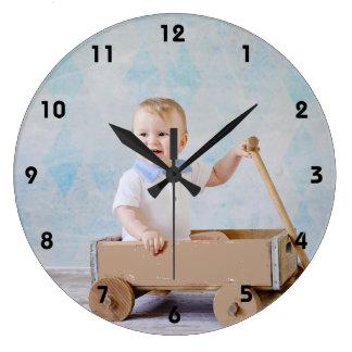 La coutume ajoutent votre horloge murale préférée