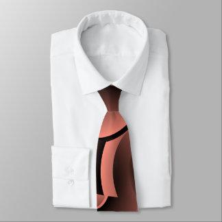 La cravate abstraite des hommes de saumon