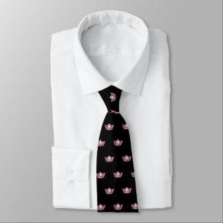 La cravate des hommes de corail de couronne de