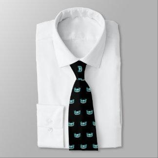 La cravate des hommes de couronne d'Aqua de la