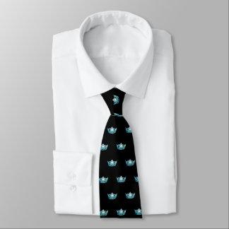 La cravate des hommes de couronne d'Aqua de Mlle