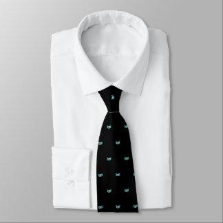 La cravate des hommes de couronne d'étoile d'Aqua