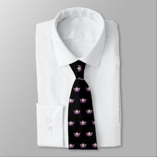 La cravate des hommes de couronne d'orchidée de