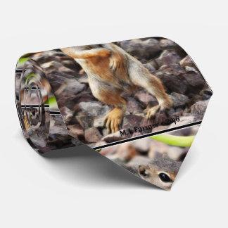 """La cravate des hommes d'écureuil moulu de """"Mikey"""""""