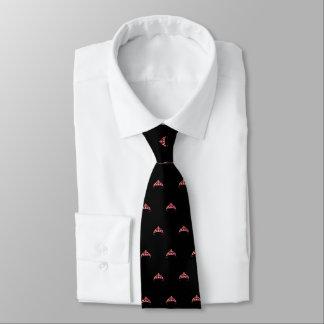 La cravate des hommes oranges de couronne de Mlle