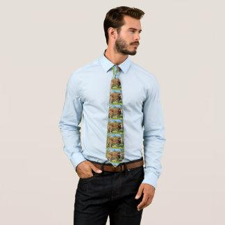 La cravate d'hommes de vache à Brown