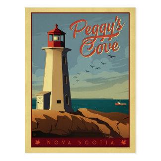 La crique de Peggy, la Nouvelle-Écosse Cartes Postales