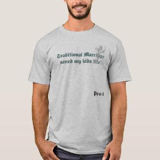 la croix, mariage traditionnel a sauvé ma vie t-shirt