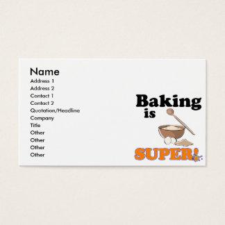 la cuisson est superbe cartes de visite