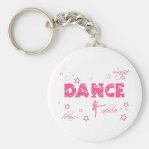 La danse imaginent pour réaliser le rêve porte-clés