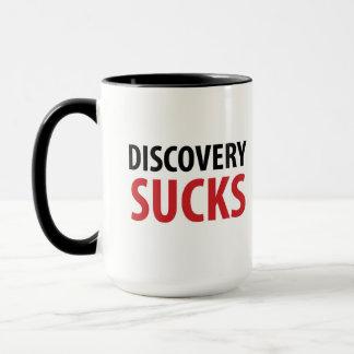 La découverte suce la tasse drôle de mandataire