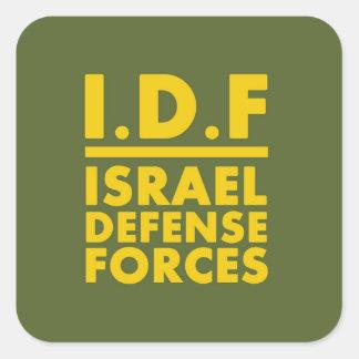 La défense Forces2 - les ANGLAIS de film encreur Sticker Carré
