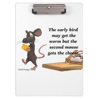 La deuxième souris obtient le fromage