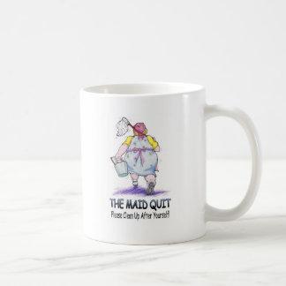 La domestique stoppée mug