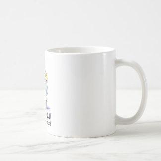La domestique stoppée mug blanc