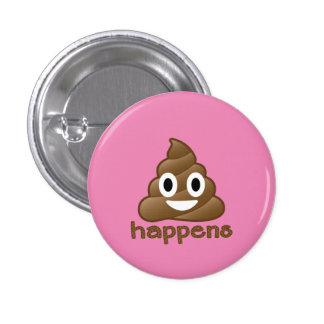 La dunette se produit Emoji Badge Rond 2,50 Cm