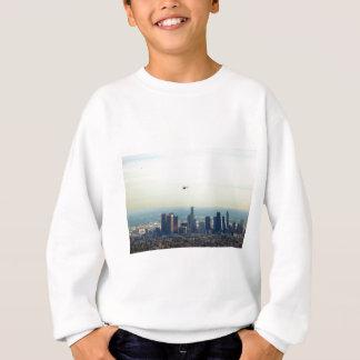 LA et hélicoptère Sweatshirt