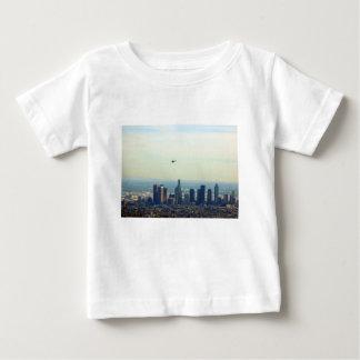 LA et hélicoptère T-shirt Pour Bébé