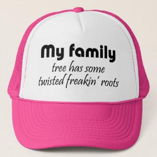 Casquette La famille drôle cite des cadeaux de casquettes de