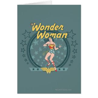 Cartes de voeux wonder woman