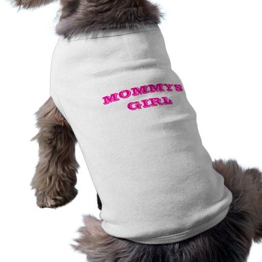La fille de la maman d'habillement d'animal famili vêtement pour animal domestique