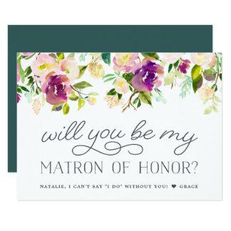 La fleur vibrante | soit ma carte de dame de